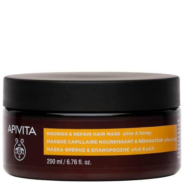 APIVITA 全面頭髮護理 滋潤修護髮膜 - 橄欖和蜂蜜 200ml