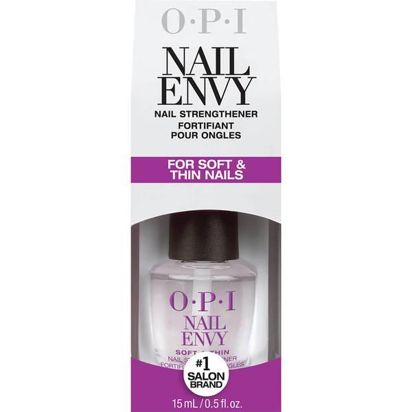 OPI Nail Envy Nail Strengthener Treatment Soft and Thin Formula 15ml