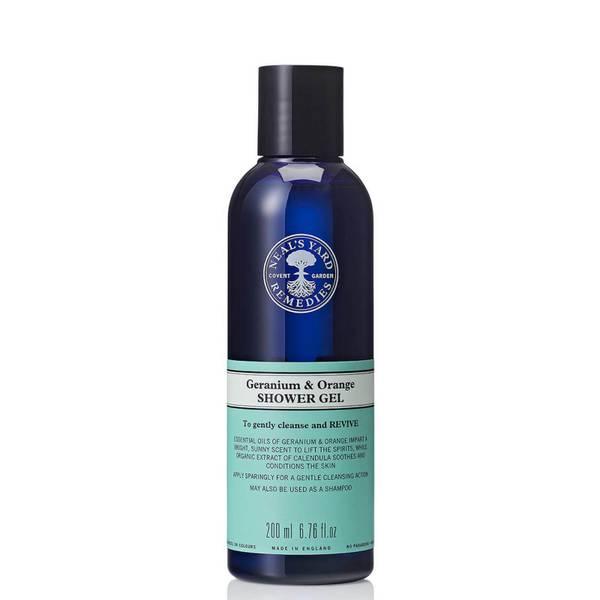 Neal's Yard Remedies Geranium and Orange Shower Gel 200ml
