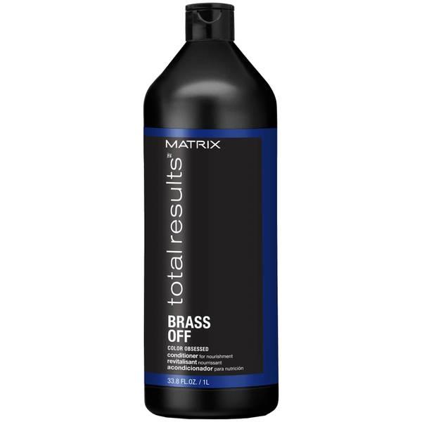 Matrix Total Results Brass Off Brunette Blue Conditioner for Lightened Brunette Hair 1000ml