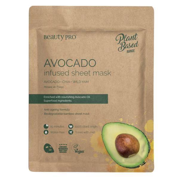 BeautyPro Avocado Hydrating Sheet Mask 22ml