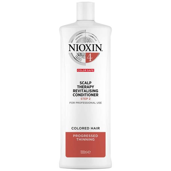 NIOXIN 3-Part System 4 Scalp Therapy Revitalising Conditioner for Coloured Hair with Progressed Thinning 1000ml