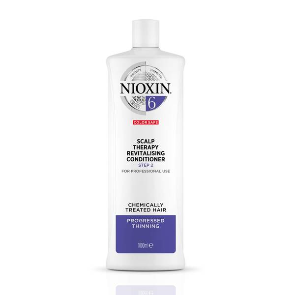 NIOXIN 3-Part System 6 Scalp Therapy Revitalising Conditioner for Chemically Treated Hair with Progressed Thinning 1000ml