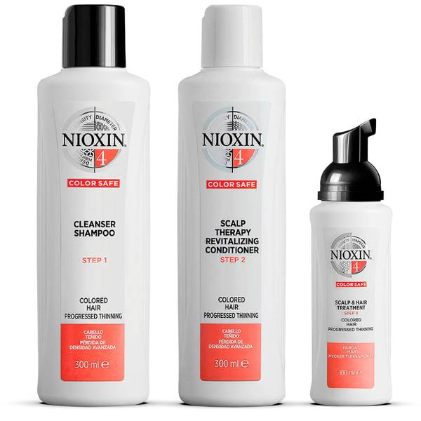 NIOXIN 3-Part System 4 Loyalty Kit for Coloured Hair with Progressed Thinning