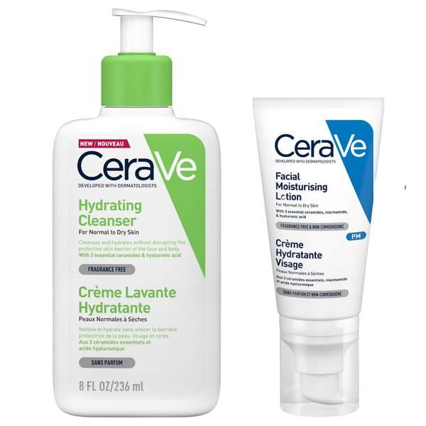 Dúo de noche Your Best Skin de CeraVe