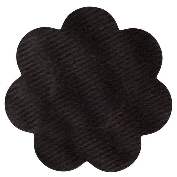 brushworks Black Satin Nipple Covers