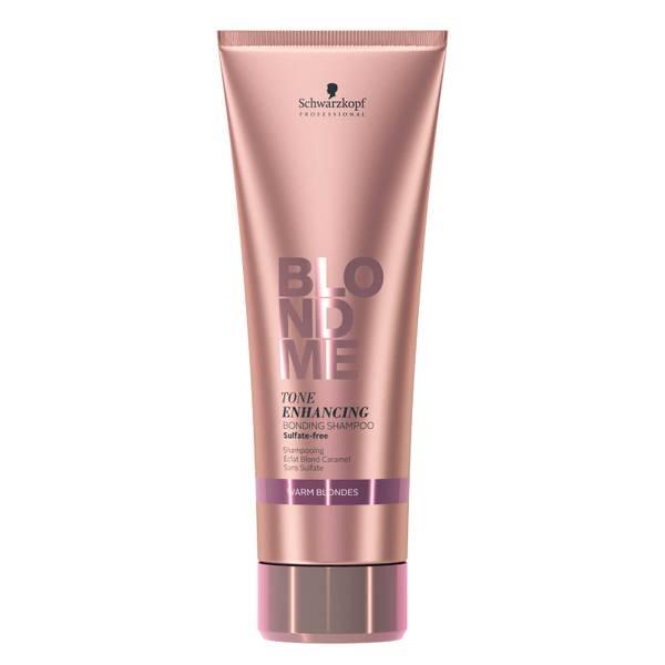 Schwarzkopf Blondme Tone Enhancing Bonding Shampoo Warm Blondes