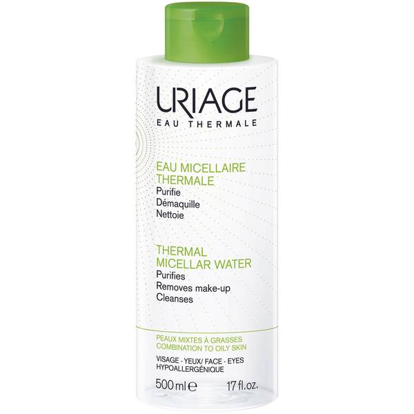 Uriage Thermal Micellar Water for Combination to Oily Skin 500ml (Worth $28)