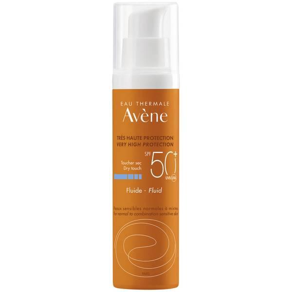 Avène Very High Protection Fluid SPF50+ Sun Cream for Sensitive Skin 50ml