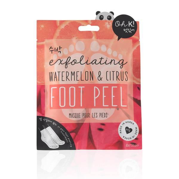Oh K! Watermelon Pink Foot Peel 18g