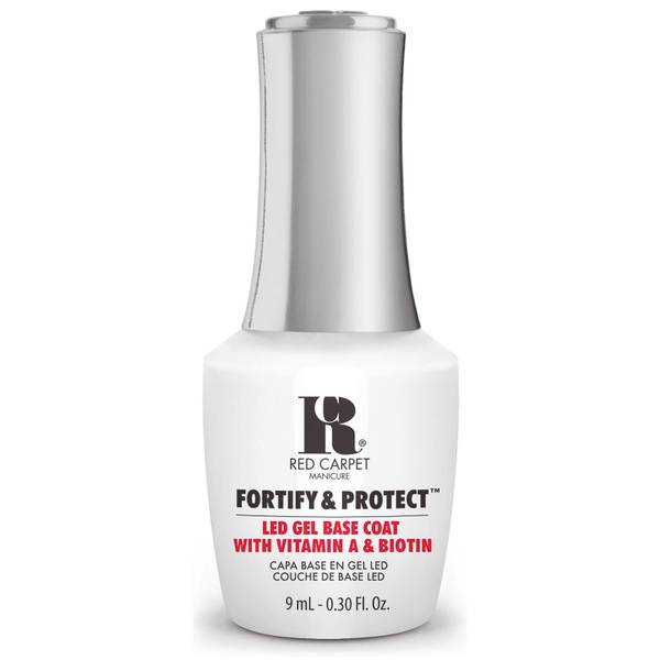 Red Carpet Manicure Fortify & Protect Base Coat LED Gel Polish 9ml