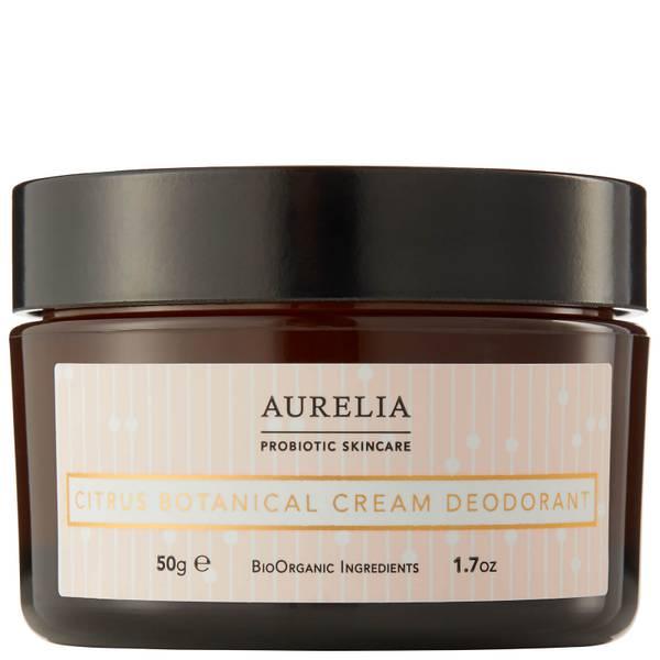 Aurelia London Citrus Botanical Cream Deodorant 50g