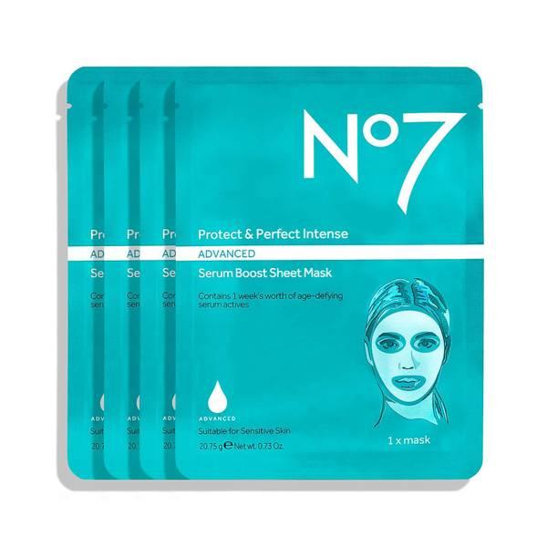 Protect & Perfect Intense Advanced Serum Boost Sheet Mask (4 Pack)