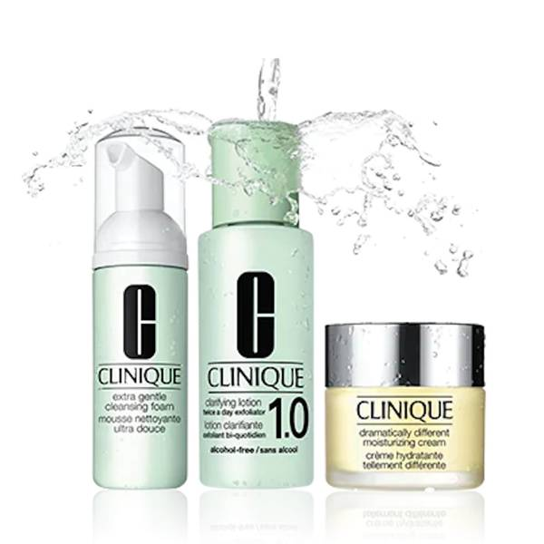 Clinique 3-Step Introduction Kit Extra Gentle