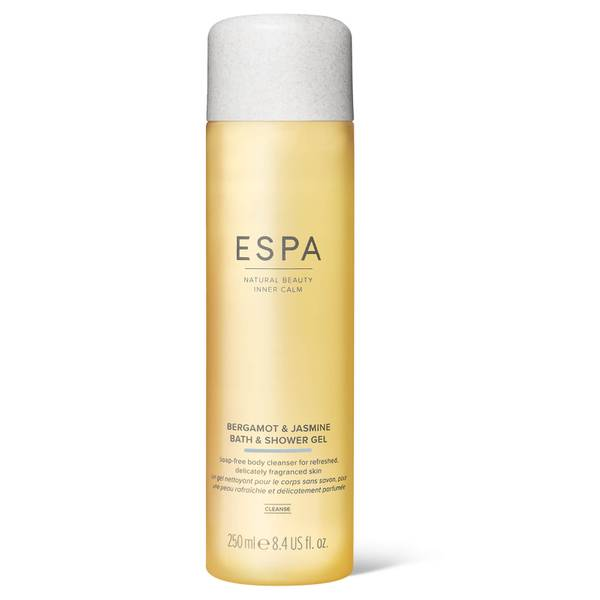 ESPA Bergamot and Jasmine Bath and Shower Gel 250ml