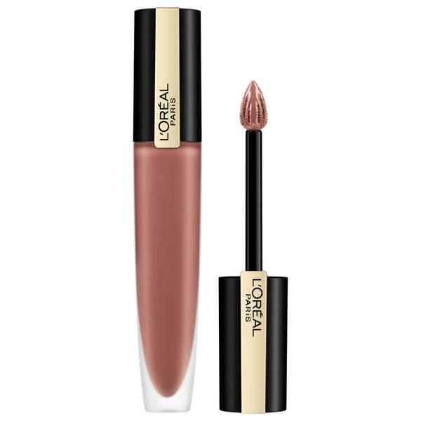 L'Oréal Paris Rouge Signature Metallic Liquid Lipstick 7ml (Various Shades)