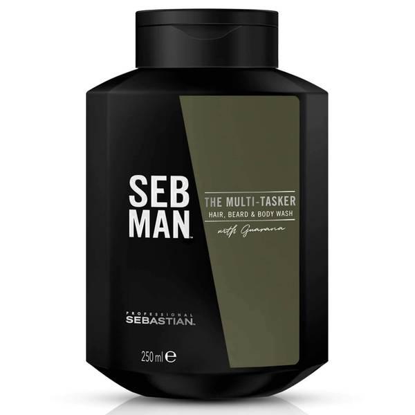 SEB MAN The Multi-Tasker Hair Beard and Body Wash 250ml