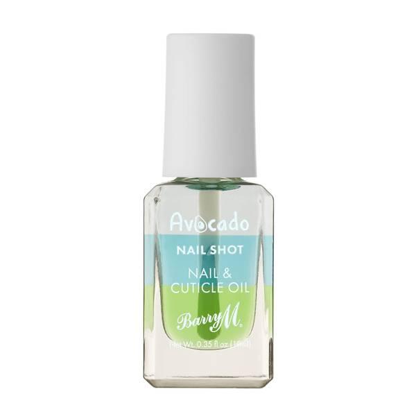 Barry M Cosmetics Nail Shot Nail & Cuticle Oil - Avocado