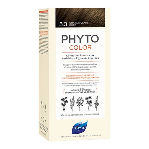 Phyto Hair Colour by Phytocolor - 5.3 Light Golden Brown 180g
