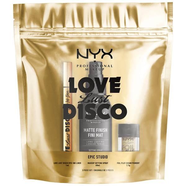 NYX Professional Makeup Epic Studio Matte Eye Christmas Gift Set