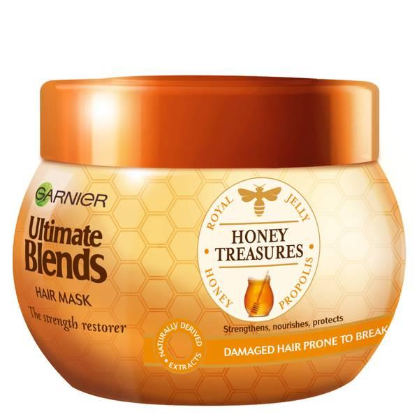 Garnier Ultimate Blends Honey Strengthening Hair Treatment Mask 300ml