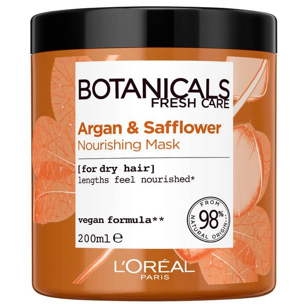 L'Oréal Paris Botanicals Safflower Dry Hair Mask 200ml