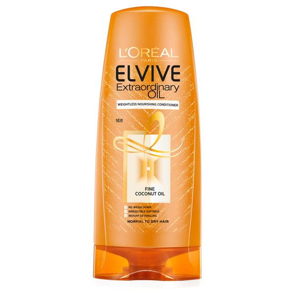 L'Oréal Paris Elvive Extraordinary Oil Coconut Conditioner for Dry Hair 500ml