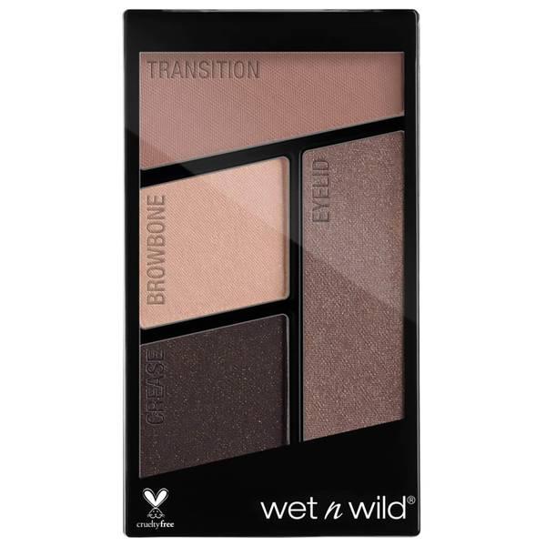 wet n wild coloricon Eyeshadow Quads - Silent Treatment 4.5g