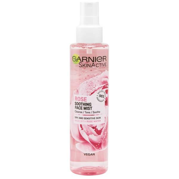 Garnier Natural Vegan Rose Soothing Hydrating Glow Mist 150ml
