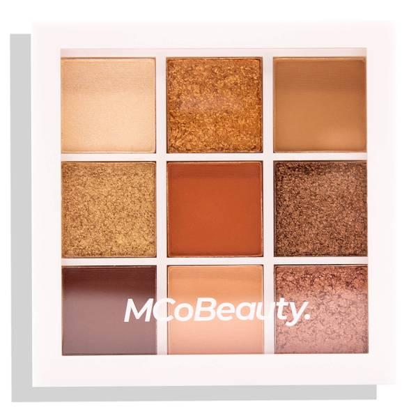 MCoBeauty Eyeshadow Palette - Peachy/Nudes 8.1g