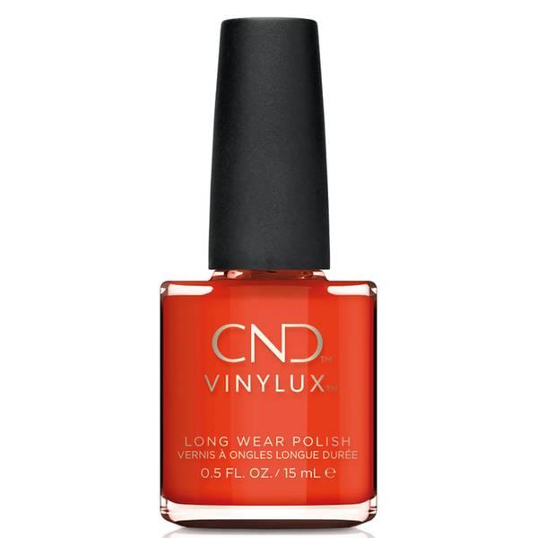 CND Vinylux Electric Orange Nail Varnish 15ml