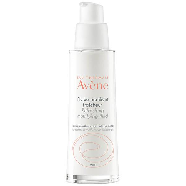 Avène Les Essentiels Refreshing Mattifying Fluid Moisturiser for Oily, Dull Skin 50ml