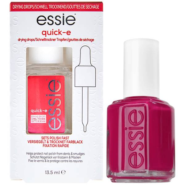 essie Exotic Liras Pink Nail Polish and Quick Dry Drops Kit Exclusive