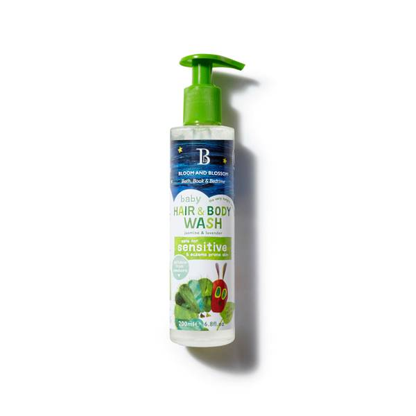 Bloom and Blossom The Very Hungry Caterpillar Baby Hair & Body Wash 200ml