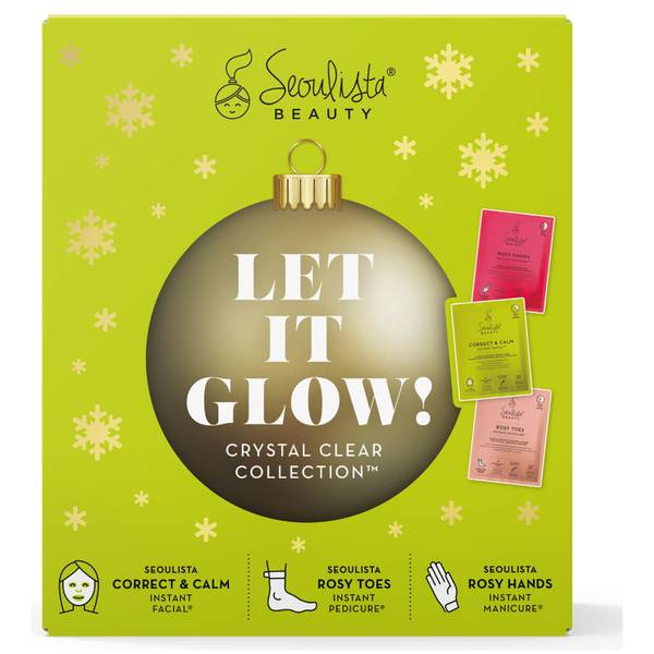 Seoulista Beauty Christmas Pack - Let it Glow! Collezione Crystal Clear