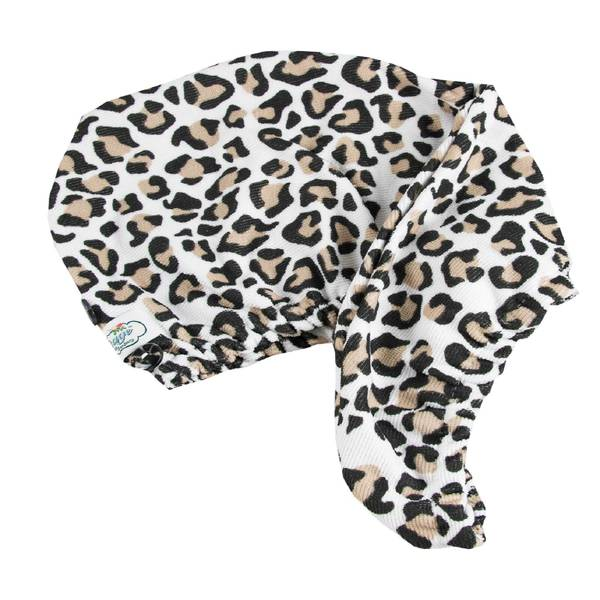 The Vintage Cosmetic Company Hair Turban Leopard Print