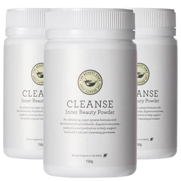 The Beauty Chef Cleanse Inner Beauty Powder Trio (Worth $195.00)
