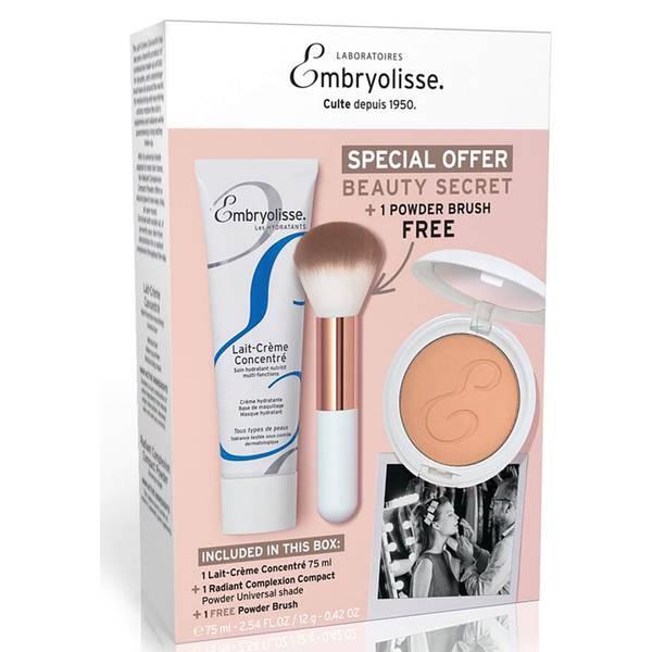 Embryolisse Beauty Secret Box: Lait Creme Concentre, Poudre Compacte, Powder Brush