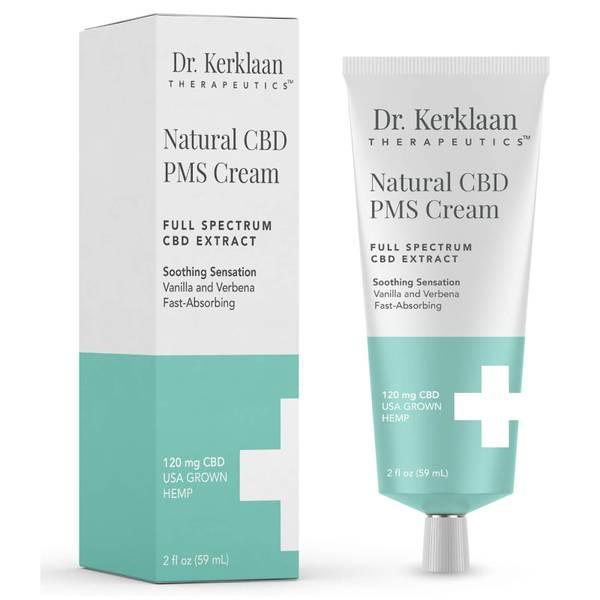 Dr Kerklaan Natural CBD PMS Cream 2 oz