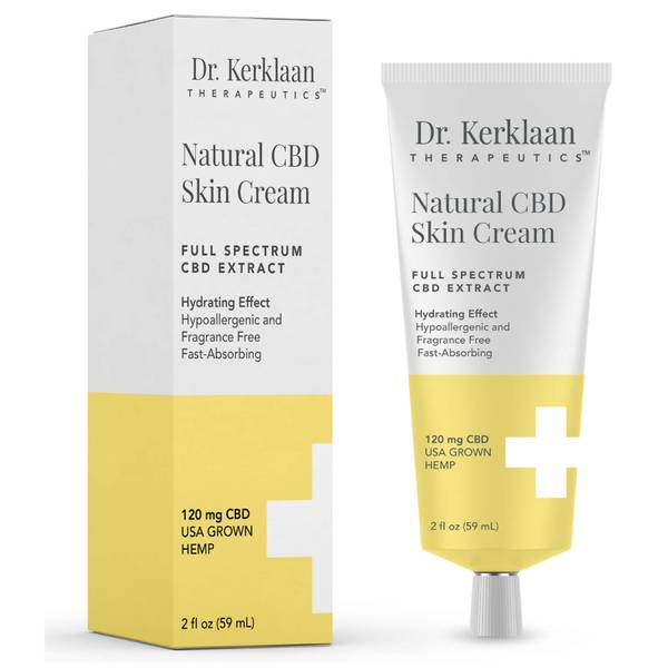 Dr Kerklaan Natural CBD Skin Cream 2 oz