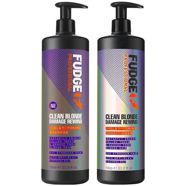Fudge Blond Shampoo and Conditioner Duo