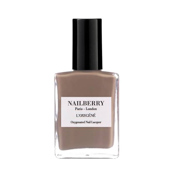 Nailberry Oxygene Nail Lacquer Mindful Grey (15ml)
