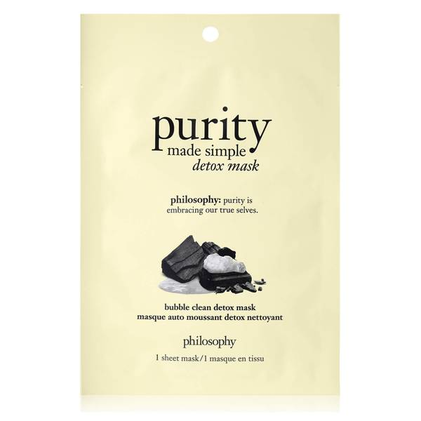 philosophy Purity Made Simple Bubble Clean Detox Sheet Mask