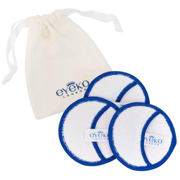 Eyeko Reusable Bamboo Cotton Pads płatki kosmetyczne wielokrotnego użytku