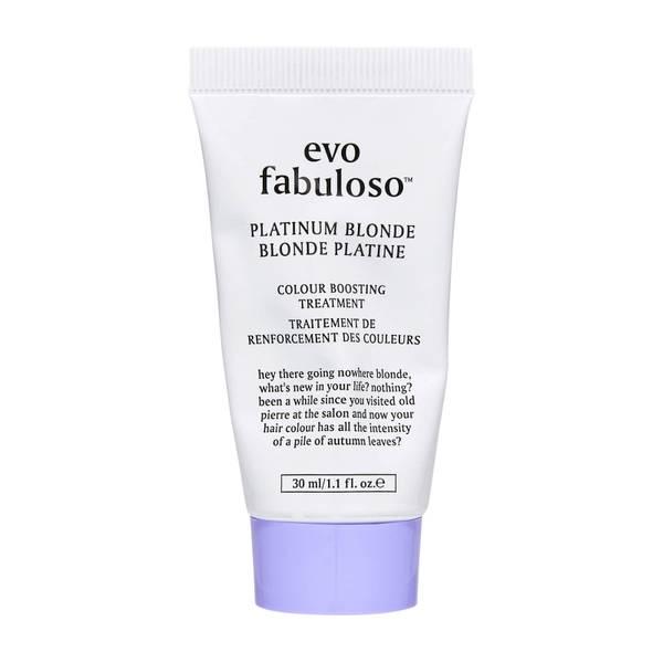 evo Fabuloso Platinum Blonde Colour Boosting Treatment 30ml