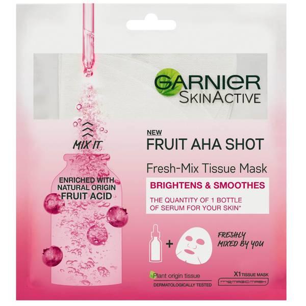 Garnier Fresh-Mix Sheet Mask Skin Hydrating Fruit AHA Shot 33g