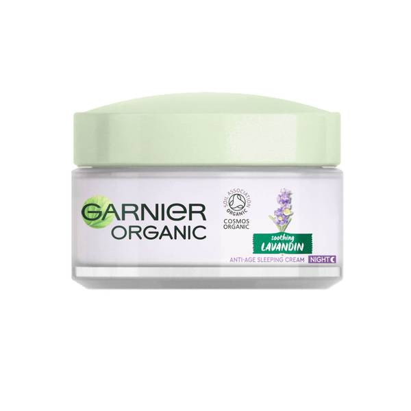 Garnier Organic Lavandin Anti-Age Facial Sleeping Cream 50ml