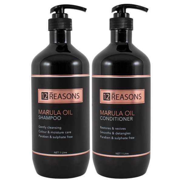 12Reasons Marula Oil Shampoo and Conditioner Duo - Frizzy Hair