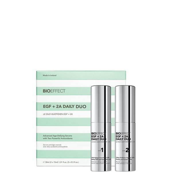 BIOEFFECT EGF +2A Daily Duo Treatment 2 x 15ml