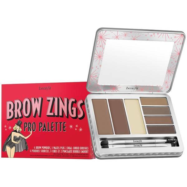 benefit Brow Zings Pro Brow Wax & Powder Palette Light/Medium